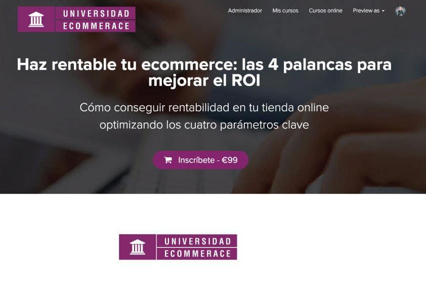 Penyertaan Peraduan #                                        41                                      untuk                                         Logo design for ecommerce university