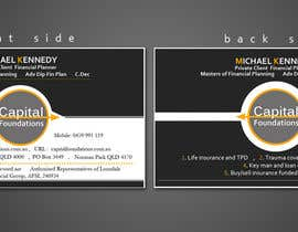 #12 cho Design Business Cards and a logo for Capital Foundations an insurance advice business bởi blesson102