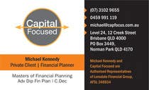 Contest Entry #7 for Design Business Cards and a logo for Capital Foundations an insurance advice business