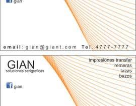 jonijons tarafından Necesito algo de diseño gráfico for Gian Serigrafía için no 10