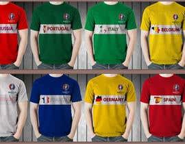 Farzeel26 tarafından Create t-shirt design for Euro Cup 2016 için no 9