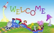 Graphic Design Entri Peraduan #31 for Childbook author website homepage illustration