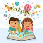Graphic Design Entri Peraduan #17 for Childbook author website homepage illustration
