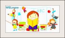 Graphic Design Entri Peraduan #19 for Childbook author website homepage illustration