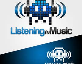 #139 para Logo Design for Listening to music por rbatusic