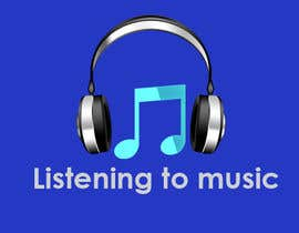 #166 para Logo Design for Listening to music por Haidarkhakhi