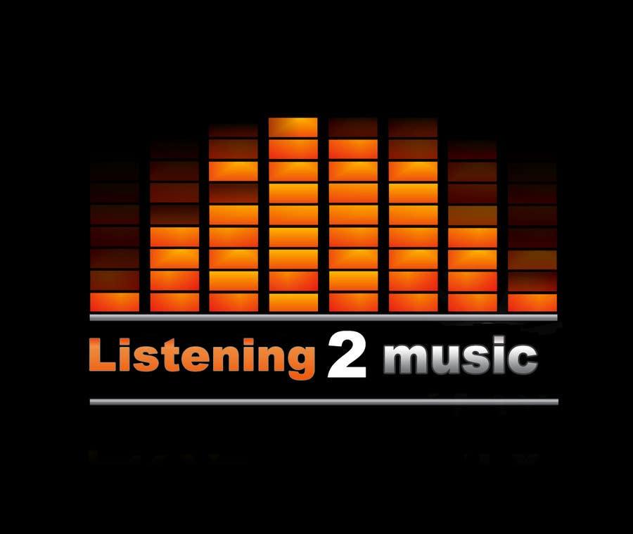 Inscrição nº 162 do Concurso para Logo Design for Listening to music