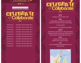 nº 4 pour Design a DL Size invitation for End of Year Celebration par swethanagaraj