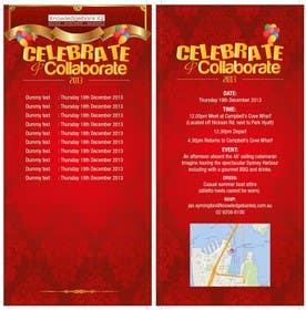 #5 for Design a DL Size invitation for End of Year Celebration by swethanagaraj