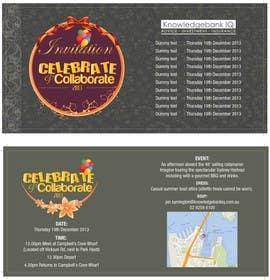 #7 for Design a DL Size invitation for End of Year Celebration by swethanagaraj