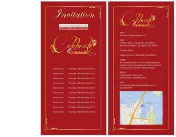#8 for Design a DL Size invitation for End of Year Celebration by swethanagaraj