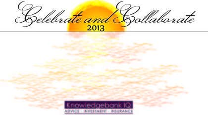 #10 for Design a DL Size invitation for End of Year Celebration by dennisabella