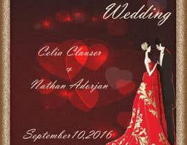 Nro 41 kilpailuun Custom wedding posters käyttäjältä asadrmansoori