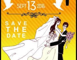 Nro 18 kilpailuun Custom wedding posters käyttäjältä aisyahzaki