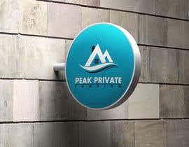 Nro 170 kilpailuun Peak Private Funding Logo käyttäjältä creativedesign0