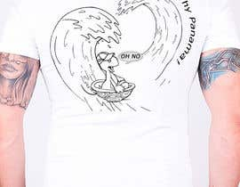 #12 para Design a T-Shirt for Waves and turtles por plamiix