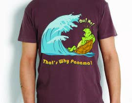 #28 untuk Design a T-Shirt for Waves and turtles oleh eventmotion