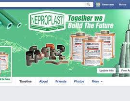 Nro 5 kilpailuun Design a Facebook landing page käyttäjältä TDuongVn
