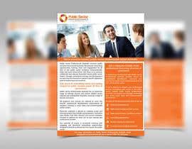 Nro 14 kilpailuun Design a Brochure ( DL & A4 format) - About Us - Public Sector Professionals käyttäjältä adarshdk