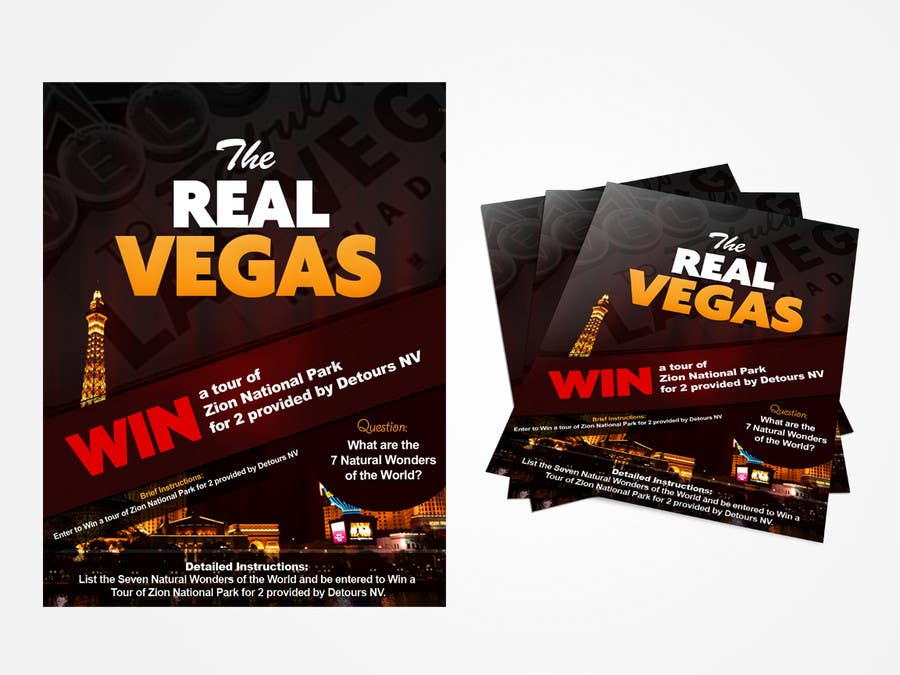 Contest Entry #                                        7                                      for                                         Graphic Design for Vegas based contest