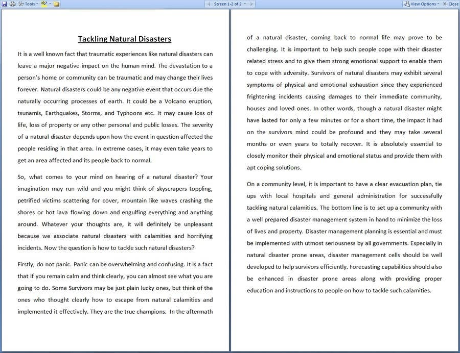 word essay This preview has intentionally blurred sections  Sign up to view the full  version