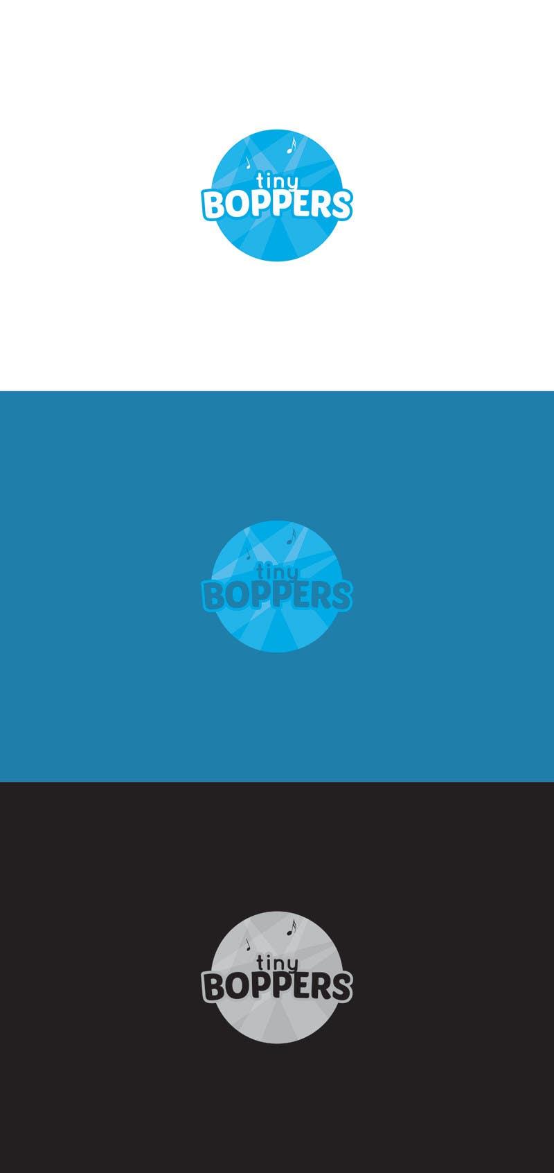 Kilpailutyö #36 kilpailussa Design a logo for Tiny Boppers - a preschool music & movement class