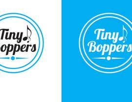 #43 for Design a logo for Tiny Boppers - a preschool music & movement class by wilfridosuero