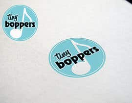 #37 for Design a logo for Tiny Boppers - a preschool music & movement class by harishjeengar
