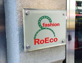 "allWebDesignPro tarafından design a logo for ""RoEco Fashion için no 66"