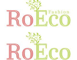 "HaziqJaffary tarafından design a logo for ""RoEco Fashion için no 45"