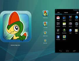 #19 cho Illustrate App Icon for Animon Game bởi annahavana