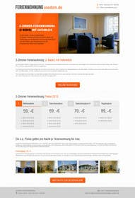 #24 untuk Design Website for Holiday Appartment Booking Page - repost oleh kreativeminds