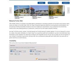 #3 untuk Design Website for Holiday Appartment Booking Page - repost oleh dipakart
