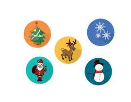 #1 for Design 5 Christmas Icons by kangian