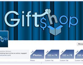 rivemediadesign tarafından Design a Logo and facebook cover Name: Gift$hop için no 16