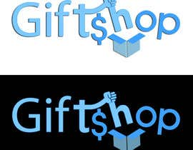 #22 untuk Design a Logo and facebook cover Name: Gift$hop oleh rivemediadesign