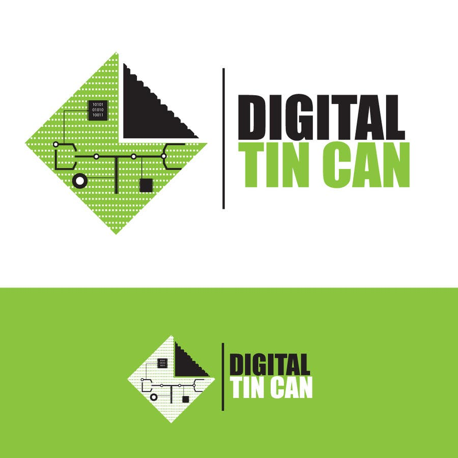 Kilpailutyö #44 kilpailussa Design a Logo for Digital Tin Can