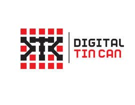 #45 for Design a Logo for Digital Tin Can by Syahriza