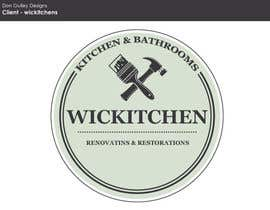 #4 para Design a Logo for Kitchen Remodeling Company por dongulley