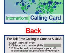 #20 for Prepaid Calling Card Design af sharpBD