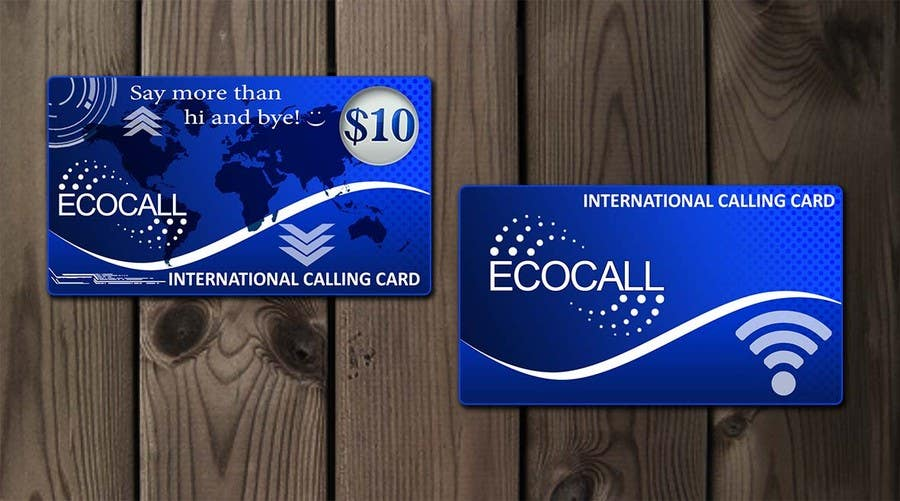 #19 for Prepaid Calling Card Design by Amila0330