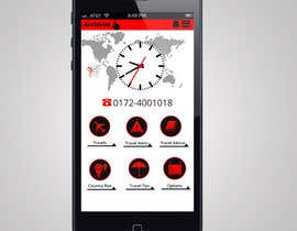 #1 cho Design the main page for a travel security app bởi MagicalDesigner