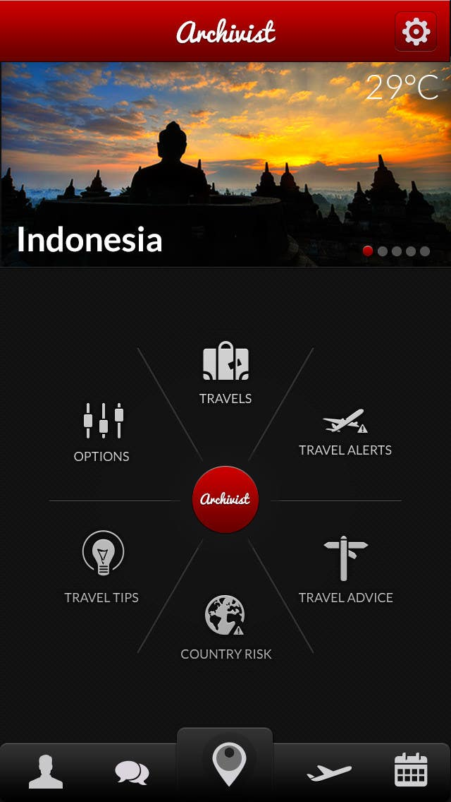 #22 for Design the main page for a travel security app by sekay