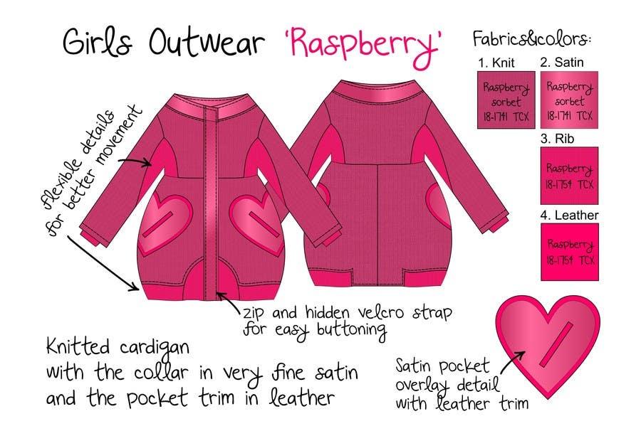 Inscrição nº 13 do Concurso para Design some Kids Outerwear