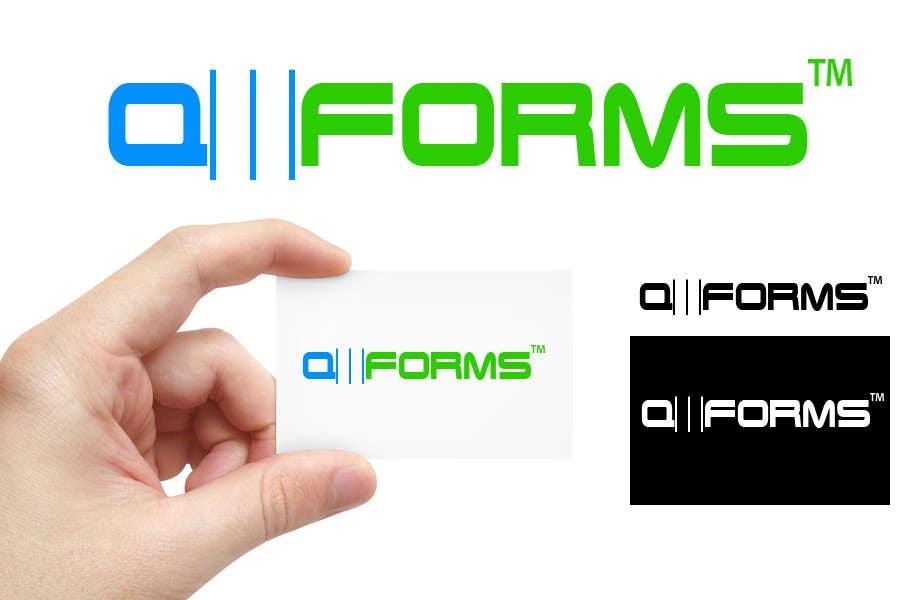 Inscrição nº                                         21                                      do Concurso para                                         Logo Design for QMForms