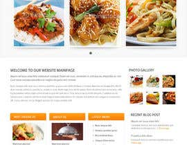 nº 20 pour wordpress cooking Website using plugin par usaart