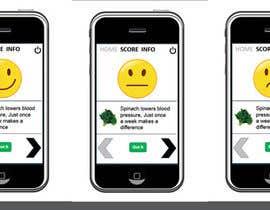 #58 para Single Screen/ Icons for a mobile application. por xrevolation