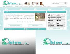 Nro 44 kilpailuun Design a (simple) logo for an editorial website about dogs käyttäjältä shelbyextasy
