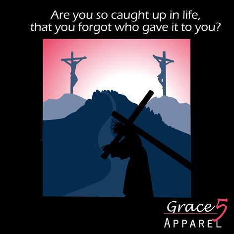 #6 for Christian T-shirt Design for Grace 5 Apparel by JulieSneeden