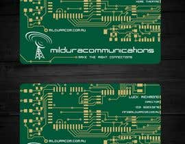 #19 untuk Business Card Design for Mildura Communications oleh F5DesignStudio